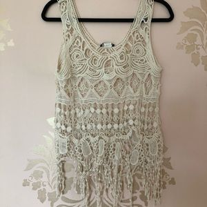 Tops - Lace Coverup/Shirt